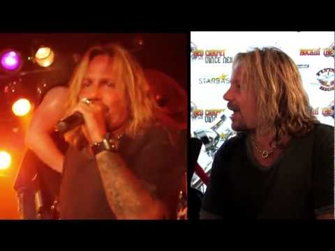 Rockin the Red Carpet with VInce Neil