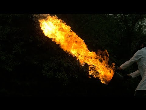Flame Throwing – The Slow Mo Guys – 2500fps