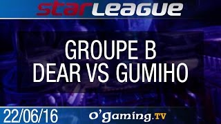 Dear vs GuMiho - 2016 SSL S2 Challenge - Groupe B - Group Stage #2