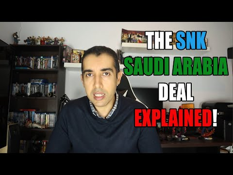 The SNK Saudi Company Deal Explained And What It Means For Future Games