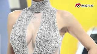 Li Ying Zhi 李颖芝 Sexy Chinese Super Model At The Beijing Auto Show 2012