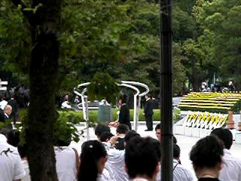 Nel ricordo della tragedia, suona la campana di Hiroshima