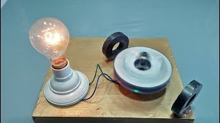 Video Free Energy Generator homemade with Magnet and Motor + Nutt Output 220 Volts Light Bulb MP3, 3GP, MP4, WEBM, AVI, FLV November 2018