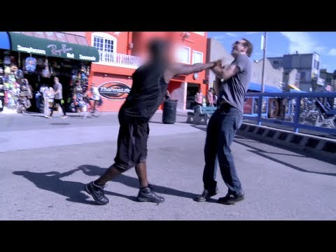 Ham Prank Goes Wrong (Throat Punch)