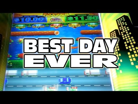 MY TOP 5 CASINO TRIPS – BEST DAY EVER!!! – Slot Machine Bonus Wins