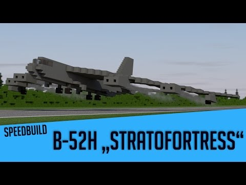 Speedbuild of PiFan's Boeing B-52H.  Music:...