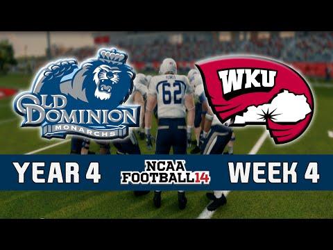 NCAA Football 14 Dynasty - Old Dominion: Episode 48
