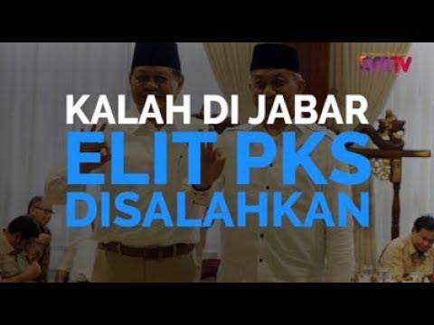 Kalah Di Jabar, Elit PKS Disalahkan