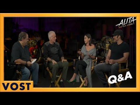 Alita: Battle Angel - James Cameron, Robert Rodriguez, Jon Landau et Rosa Salazar Live Q&A