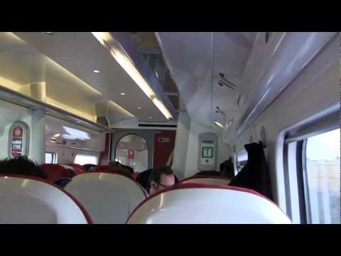 Virgin Trains Pendolino train (interior) - January 2013