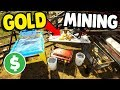 GOLD MINE OPERATION SETUP | Gold Rush: The Game Gameplay
