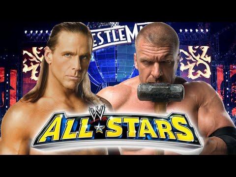 WWE ALL STARS | TRIPLE H vs SHAWN MICHAELS