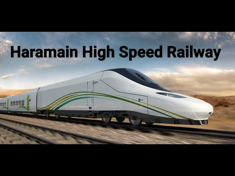 Saudi Talgo Haramain HS  Railway run from Mecca to Madina. Stopped for a month due to huge fire