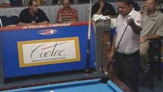 2005 US Open 9-Ball Championship Gabe Owen Vs. Efren Reyes