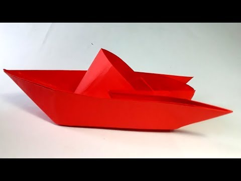 Como Hacer Un Barco De Papel Origami -  How To Make An Origami Paper Boat