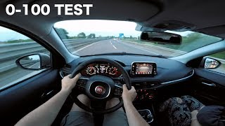 Download Lagu 2017 Fiat Tipo 1.4 Turbo GPL 120hp STRONG ACCELERATION, REVIEW & 0-100 [RAW POV] (English Subs) Mp3