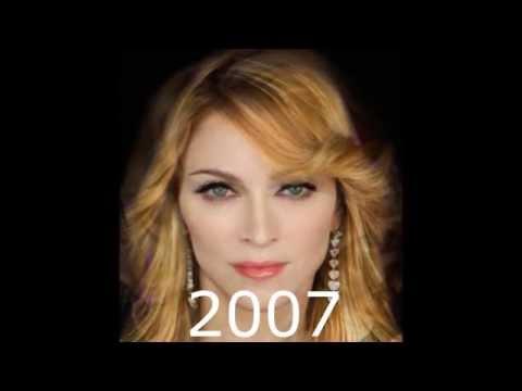 Madonna Face Morph (1982 – 2014)