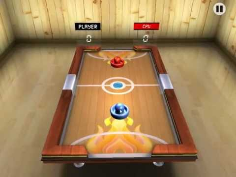 Video of Air Hockey 3D