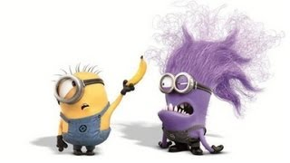 Evil Minion Wants Banana - DESPICABLE ME 2 - Steve Carell, Chris Meledandri