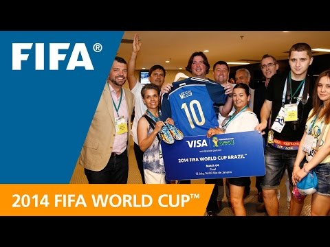 Visa FIFA World Cup™ Backstage Experiences