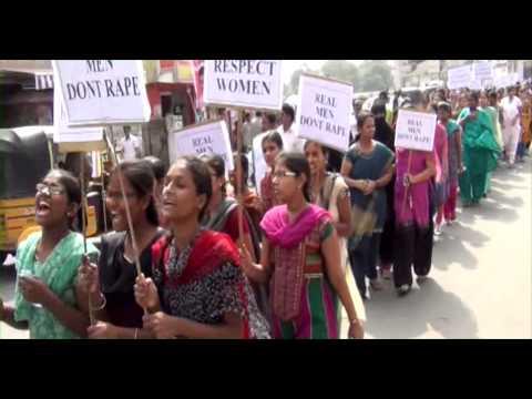 HYD Malkajgiri Junior College Students Rally - Against Delhi Gang Rape