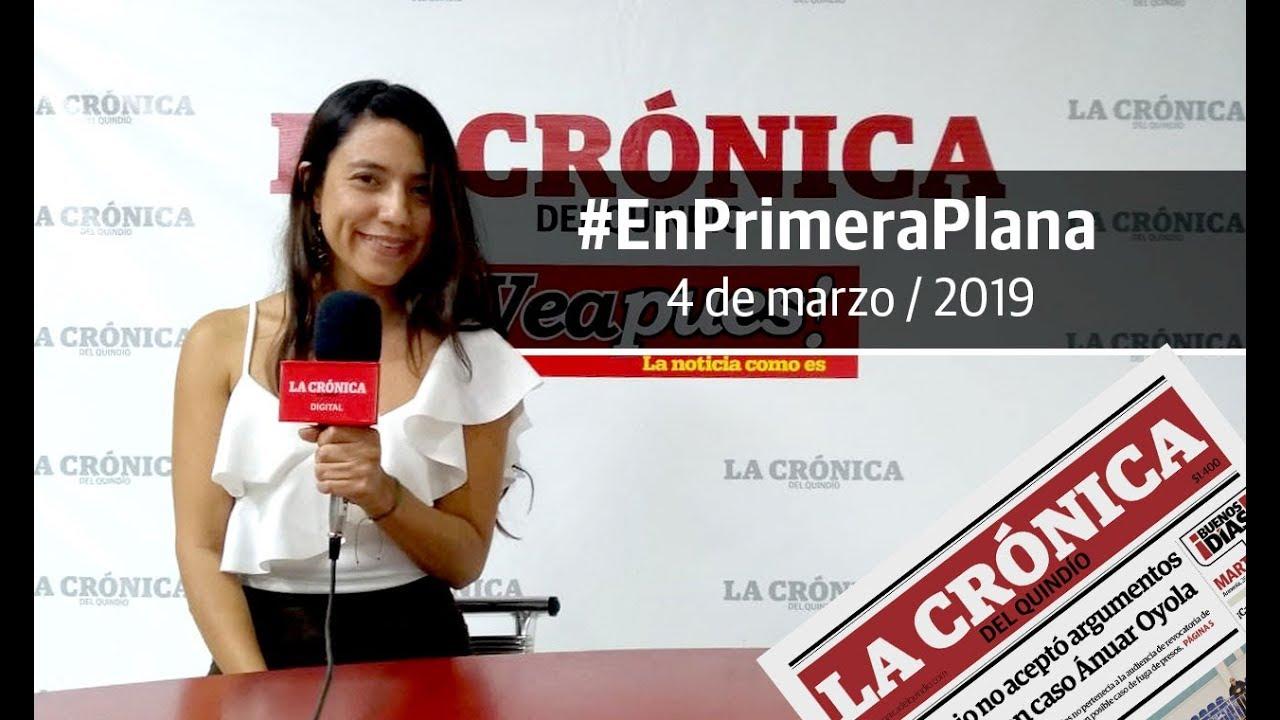 En Primera Plana: lo que será noticia este martes 5 de marzo