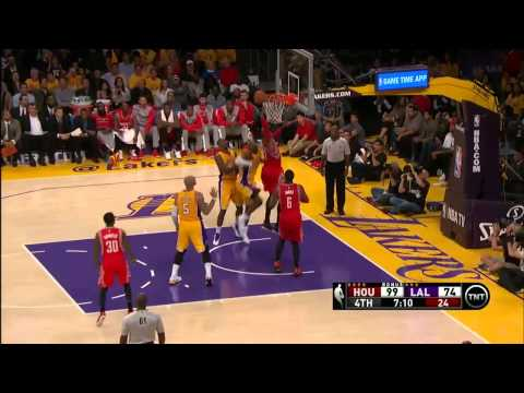 NBA Highlights: Rockets @ Lakers 10/28/2014