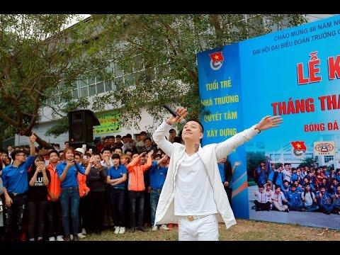 Ca sỹ Tuấn Hưng xử lý bóng tinh tế như tuyển thủ | FC H.A.T thắng nhẹ Cao đẳng nghề CNC Hà Nội