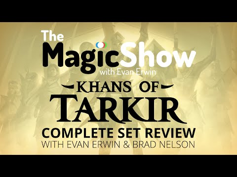 set - Support the show! http://www.patreon.com/magicshow It's here! Every single card in Khans of Tarkir as brought to you by myself and Brad Nelson! Let's begin with Abzan / White! Follow me on...