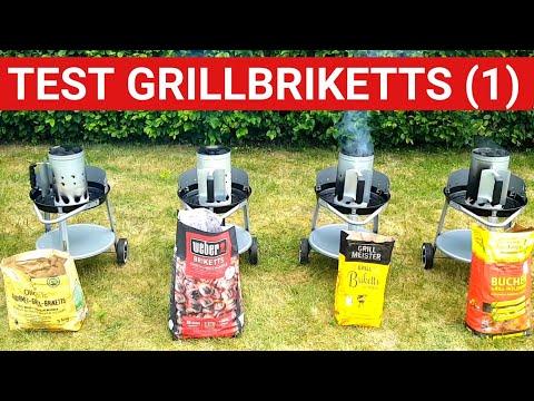 ♨️ GRILLBLITZ: Test Grillkohle und Grillbriketts 2017, Olio Bric, Weber, Lidl und proFagus Holzkohle