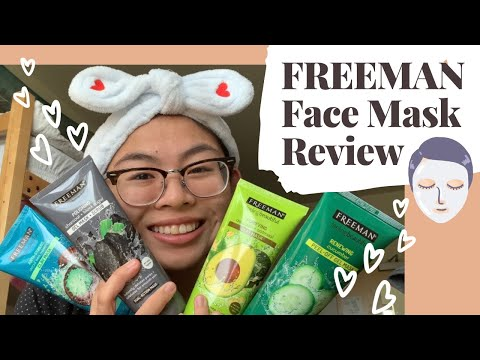 FREEMAN Face Mask Review!