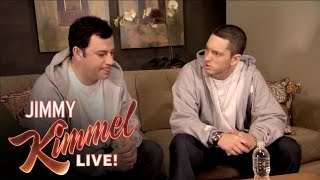 Video Briefcase Joe: Eminem Teaches Jimmy Kimmel to Rap MP3, 3GP, MP4, WEBM, AVI, FLV Oktober 2018