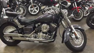 6. 2005 yamaha V star Classic 650 description