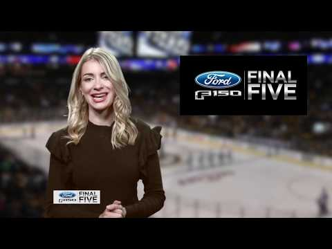 Video: Ford F-150 Final Five: Jaroslav Halak, Bruins Blank Flyers