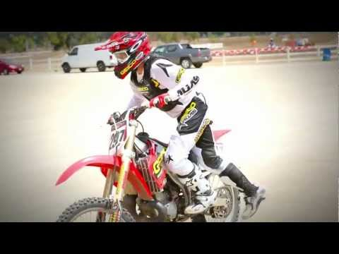 Wil Hahn on CR250R Two Stroke