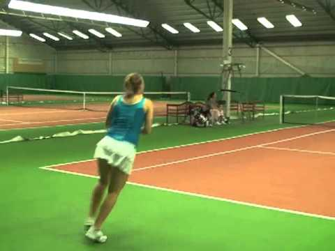 Alexandra Victorsson -Tennis College Recruiting Video 2012