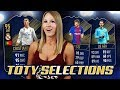 THE TEAM OF THE YEAR SELECTIONS ARE IN! - FIFA 18