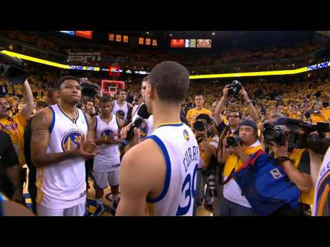 Stephen Curry and the Warriors Thank the Fans_Kosrlabda videk. Legeslegjobbak