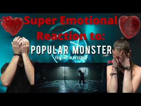 Depression survivor reacts to Popular Monster by Falling in Reverse