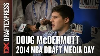 Doug McDermott 2014 NBA Draft Media Day Interview