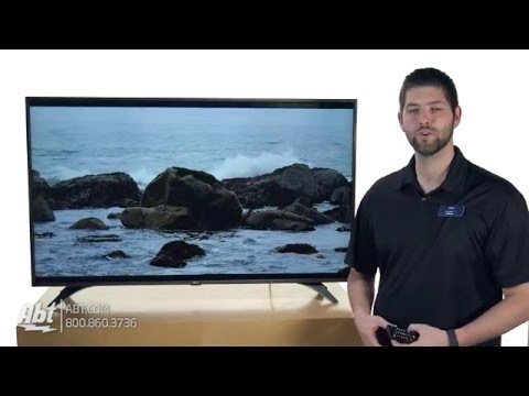 LG 55 Silver UHD 4K LED Smart HDTV With WebOS 3.0 55UH6550 - Overview