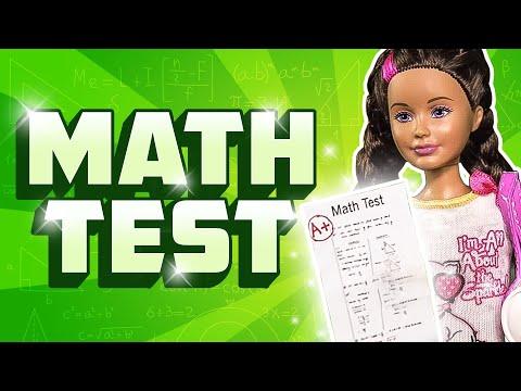 Barbie - Skipper's Math Test