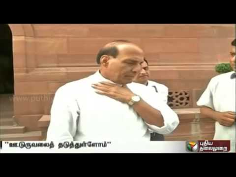 Activities-of-militant-groups-is-controlled-under-NDA-govt-Rajnath-Singh