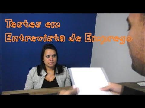 Testes em Entrevista de Emprego