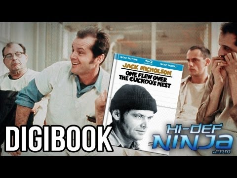 One Flew Over The Cuckoos Nest | Blu-ray Digibook | Hi-Def Ninja.com