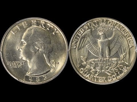How Valuable Are 1983 Quarters? - Newly Minted Coins Are Selling For Thousands Of Dollars!