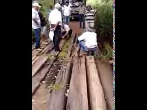 Situação das estradas e pontes em Bonópolis Go