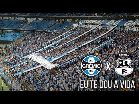 Eu te dou a vida - Grêmio 4 x 0 Zamora - Libertadores 2017 - Geral do Grêmio - Grêmio