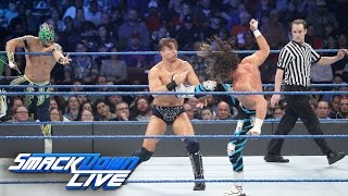Nonton Dolph Ziggler   Kalisto Vs  The Miz   Baron Corbin  Smackdown Live  Nov  29  2016 Film Subtitle Indonesia Streaming Movie Download