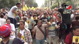 المئات في مسيرة «الاستقامة» يهتفون ضد «السيسي»
